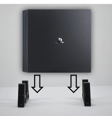 AU13.33 • Buy PS4 Pro Console Vertical Stand Adjustable, Diffrent Colours Available