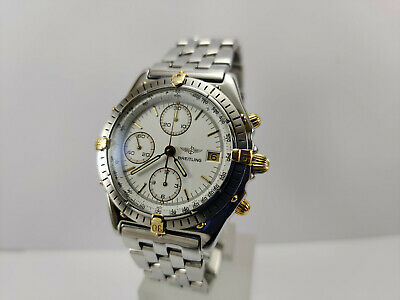 $ CDN618.81 • Buy BREITLING Chronomat Men's Vintage Automatic Chronograph Watch Ref 81950 B13047