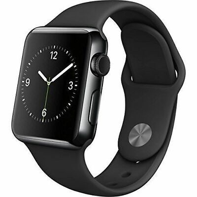 $ CDN263.86 • Buy Apple Watch Series 2 42mm Space Black Case - Black Sport Band
