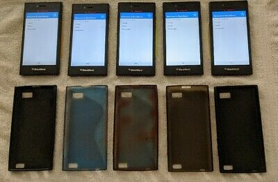 $ CDN275 • Buy Lot Of 5 - BlackBerry Leap Smartphones  - 16GB Shadow Grey