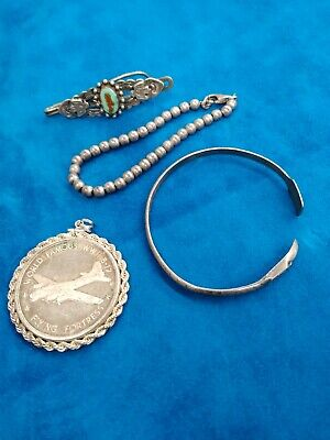 $ CDN88.45 • Buy Silver Jewelry Lot Vintage 925 Sterling