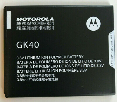 AU18.52 • Buy Genuine Original OEM For Motorola Moto G5 G4 E5 Play GK40 Battery 2800mAh