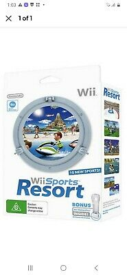 AU70 • Buy Nintendo Wii Sports Resort Bundle Includes Game + Motion Plus BRAND NEW IN BOX!