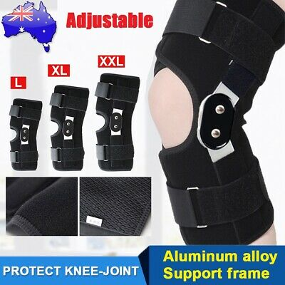 AU19.99 • Buy Double Metal Hinged Knee Brace Leg Support Rebound Lift Stabilizer For Arthritis