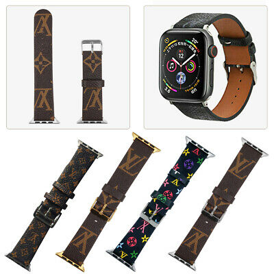 AU21.84 • Buy Luxury Brand Design  IWatch Leather Sport Strap 38/40/44mm For A Pple Watch Band