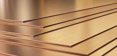 £6.30 • Buy Copper Sheet Plate Guillotine Offcuts - 0.4mm To 3.0mm - Multiple Sizes