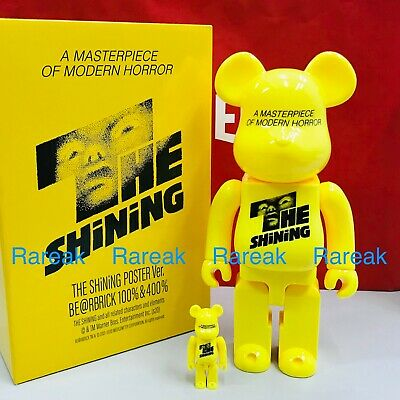 $156.99 • Buy Medicom Be@rbrick 2020 Masterpiece Horror Shining Poster 400% + 100% Bearbrick