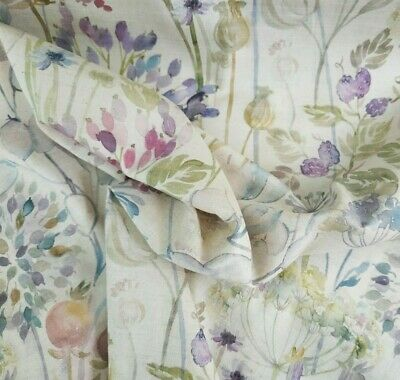 Hedgerow Classic Linen / Cotton Fabric Voyage Curtains Cushions Crafts • 29.99£