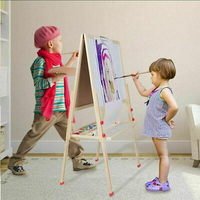 3in1 Adjustable Children Kid's Art Easel Double Sided Paper Roll Accessories • 25.99£