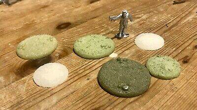 Wargames Resin Bases Objective Markers Bolt Action Chain Of Command • 2£