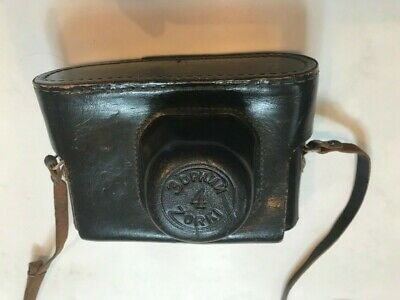 Vintage Collectible Zorki Camera In Leather Case With Flash Attachment • 8.50£
