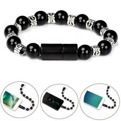 $2.99 • Buy USB Cable Bracelet Data Bead Bracelet Charging Sync Creative Wristband Cord