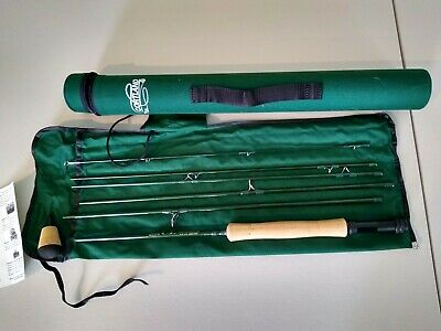 $105 • Buy Cortland CL  9' 0  Fly Rod 8/9 Wt  Travel Rod 6 Piece With Tube New Unused