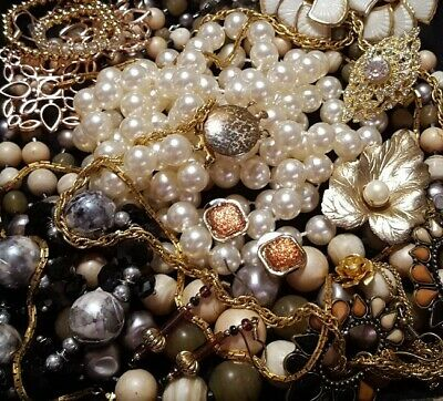 $ CDN39.36 • Buy Vintage Now Unsearched Untested Junk Drawer Jewelry Lot Estate Find All Wear 921