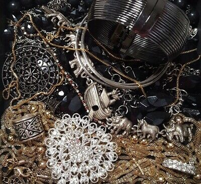 $ CDN39.36 • Buy Vintage Now Unsearched Untested Junk Drawer Jewelry Lot Estate Find All Wear 923