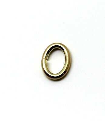 AU20 • Buy Kaedesigns,  9ct  9k Yellow Gold, 7mm Oval Open Jump Ring