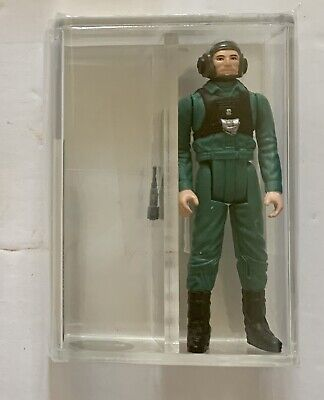 $ CDN543.43 • Buy Vintage Kenner Star Wars  POTF - 1985 Loose A-Wing Pilot - AFA Graded 85