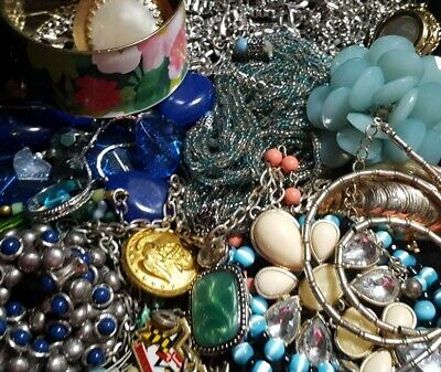 $ CDN33.93 • Buy Vintage Now Unsearched Untested Junk Drawer Jewelry Lot Estate Find All Wear 927