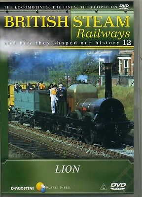 DeAgostini British Steam Railways 12 Lion New Sealed  DVD • 2.95£