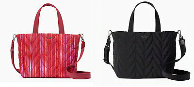 $ CDN90.23 • Buy 🌸NWT Kate Spade Ellie Small Tote Satchel Top Zip Quilted Crossbody Bag Quilted