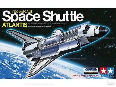 1:100 Scale Space Shuttle Atlantis Model Kit By Tamiya (inc Markings For All) • 50£