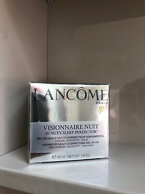 Lancome Visionnaire Nuit Beauty Sleep Perfector Multi-Correcting Gel-in-Oil - 50 • 49.99£