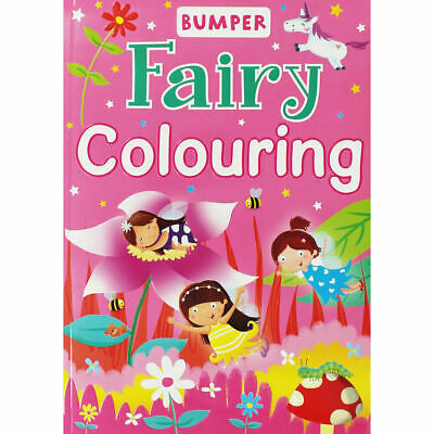 QUALITY A4 Children's Girls FAIRY Colouring Book 96 PAGES PERFORATED FUN  • 4.49£