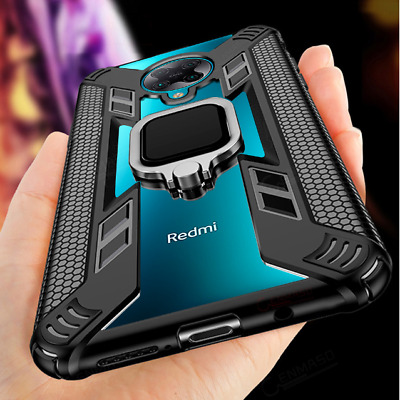 AU6.53 • Buy For Xiaomi Poco F2 Pro Hybrid Magnetic Ring Holder Shockproof Armor Case Cover