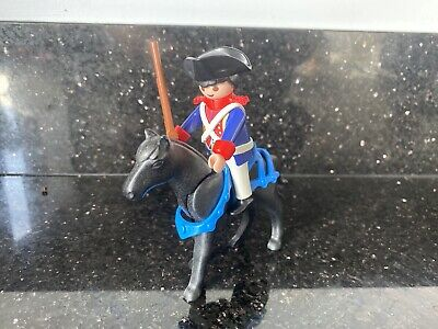 Playmobil French Soldier And Horse • 2£