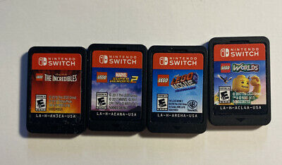 $74.99 • Buy Lot Of 4 LEGO Games Nintendo Switch