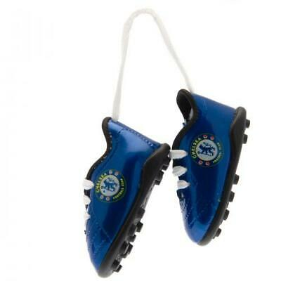 Official CHELSEA FC Mini Football Boots Car Hanging Sign CFC Gift • 8.99£