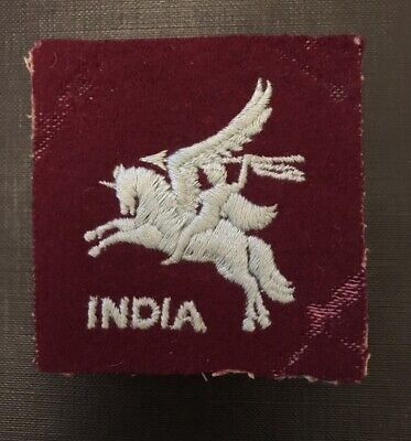 WW2 British Parachute India Patch (paratroops) • 45£