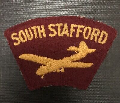 WW2 British Army Glider Troops South Stafford Patch (paratroops) • 20£