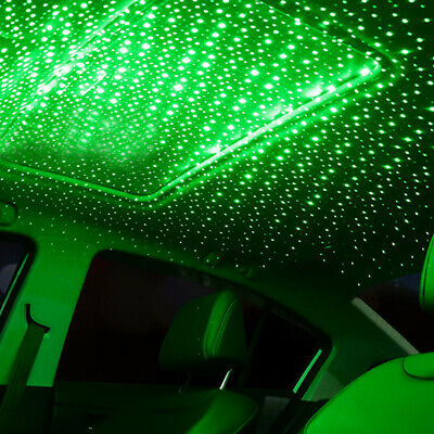 $7.97 • Buy 1× USB LED Car Roof Star Night Interior Light Atmosphere Galaxy Lamp Accessories