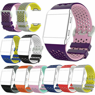 $ CDN6.24 • Buy Silicone Wrist Band Strap Bracelet Watchband For Fitbit Ionic Watch Replacement