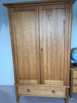 John Lewis Oak Double Wardrobe With One Drawer • 180£