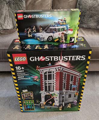 LEGO Ghostbusters Firehouse & Ecto-1 (75827 + 21108) *NEW* • 410£