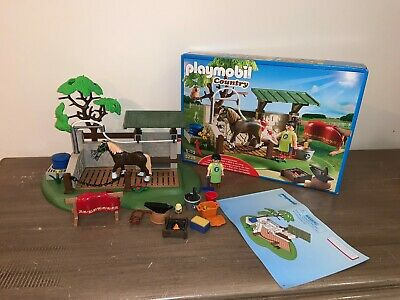 PLAYMOBIL 5225 Horse Care Station • 5.50£