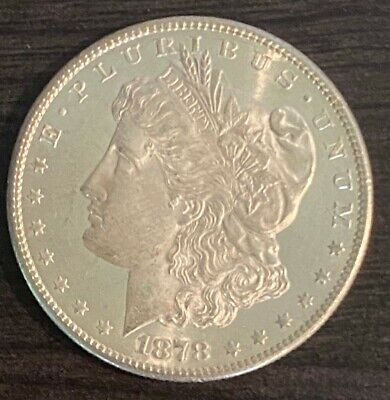 $36.10 • Buy 1878 S Morgan Silver Dollar 7 Tail Feathers Second Reverse Type XF/AU Details