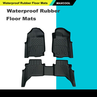 AU115.99 • Buy 3D Rubber Floor Mats Waterproof Fit For Ford Ranger PX 2012-2019