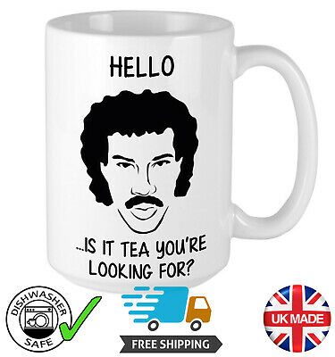 £8.95 • Buy Lionel Richie - Is It Tea You're Looking For? - Mug - Birthday & Christmas Gift