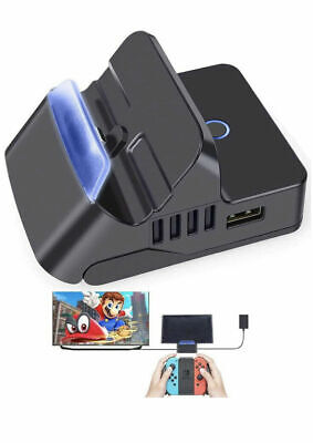 $21.98 • Buy Replacement For Nintendo Switch HDMI TV Docking Station Charging Dock