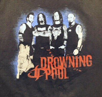 $ CDN37.89 • Buy Xl Vintage  Drowning Pool  Heavy Metal Band T Shirt Metallica Godsmack Pantera