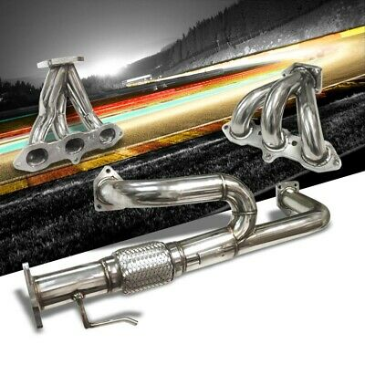 $145.38 • Buy Manzo Exhaust Header Manifold For 01-03 Acura CL TL/98-02 ACCORD CG1/CG2L V6