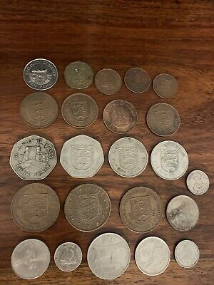 Collection Of Mostly Jersey Coins ~ Some Gibraltar And Guernsey ~ No Reserve • 2£