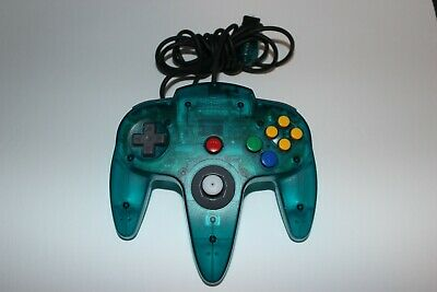 $ CDN56.99 • Buy Official N64 Funtastic Ice Blue Controller  (Nintendo 64) - TESTED