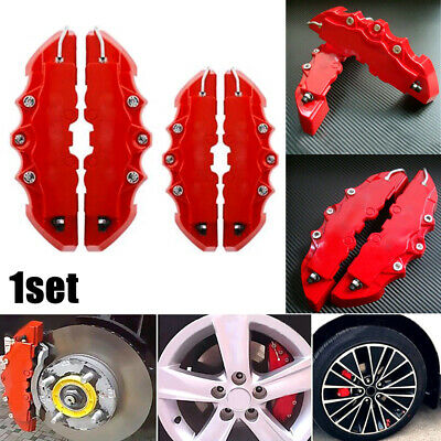 $ CDN27.63 • Buy 4Pcs 3D Car Universal Disc Brake Caliper Covers Front & Rear Kit Car Accessories