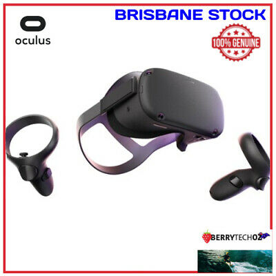 AU700 • Buy Oculus Quest VR Headset Complete All-In-One 64GB Black - New & Sealed