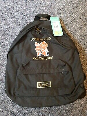 London 2012 Olympic's Xxx Olympiad Venue Collection Rucksack Bag New With Tags • 1.70£