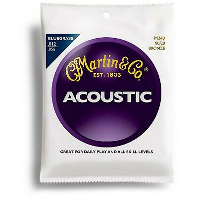 $ CDN8.99 • Buy Martin MA240 Bluegrass Acoustic Guitar Strings